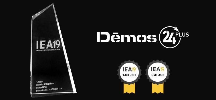 Prestiżowa nagroda dla portalu Demos24Plus