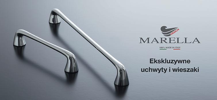 Marella Design - włoskie uchwyty i wieszaki