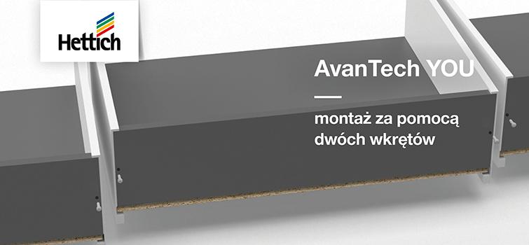 AvanTech YOU: Prosty montaż ściany tylnej