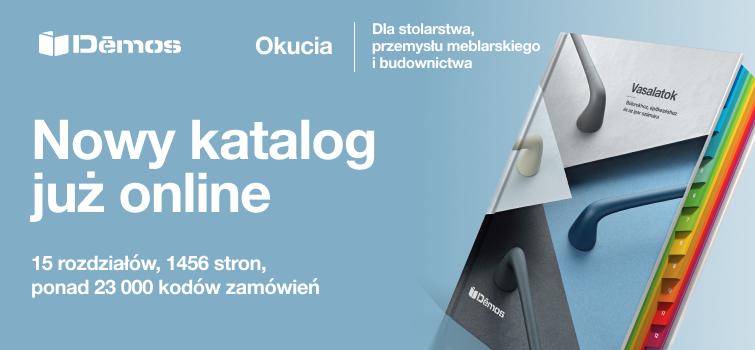 Nowy katalog okuć meblowych już online!