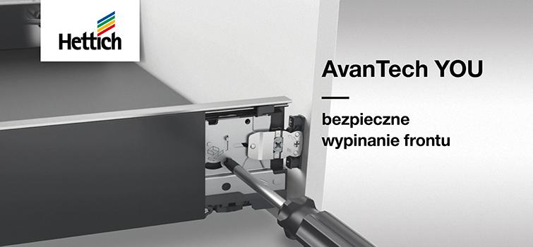AvanTech YOU: Bezpieczne wypinanie frontu