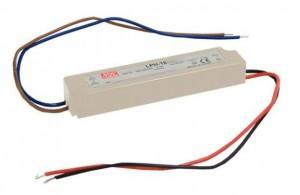Transformator 12V 18W IP67 Meanwell