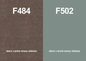 Panel ścienny F484 ST87/F502 ST2 4100/640/9,2