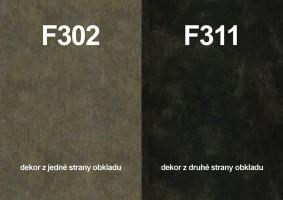 Panel ścienny F302 ST87/F311 ST87 4100/640/9,2