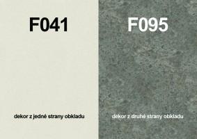 Panel ścienny F041 ST15/F095 ST87 4100/640/9,2