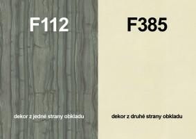 Panel ścienny F112 ST9/F385  ST10 4100/640/9,2