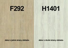 Panel ścienny F292 ST9/H1401 ST22 4100/640/9,2