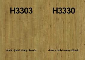 Panel ścienny H3303 ST10/H3330 ST36 4100/640/9,2