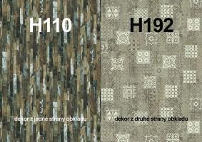Panel ścienny H110 ST9/H192 ST10 4100/640/9,2