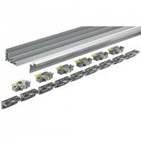 HETTICH 9278657 TopLine XL nowy zestaw profili prowadzących 4000 mm