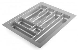STRONG Wkład na sztućce 45/490 (385 x 490 mm) srebrny metalik