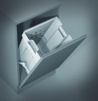 GOLLINUCCI Kosz łazienkowy, 450 mm, biały,bez zawiasów