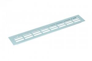 Kratka wentylacyjna 130/1000mm aluminium