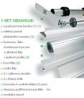 REHAU metal LINE KPL. RAI Ne/88 600/1500, stal nierdzewna