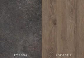 Panel ścienny F028 ST89/H3133 ST12 4100/640/9,2