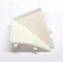 Listwa przyścienna Egger Narożnik wewnętrzny 90°  Biały