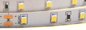 STRONG taśma LED 12W/m(120)24V ciepła biała IP65