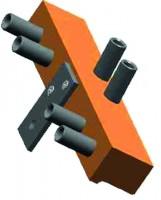 Szablon montażowy do zawiasu SZ 82 14-16mm