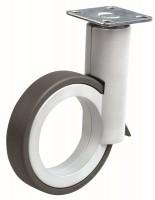 OGTM Kółko Rotola 90 mm, aluminium, guma szara