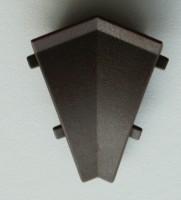 Listwa przyścienna Egger Narożnik wewnętrzny 135°  ciemnobrązowa