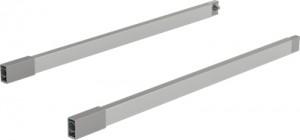 HETTICH 9150656 ARCITECH komplet relingów 650 L+P, srebrny