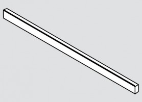 BLUM ZR7.1080U reling poprzeczny Legrabox brunatnoczarny mat