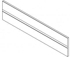 BLUM Z40L427A przegródka poprzeczna Antaro 550 jedwabiście biały