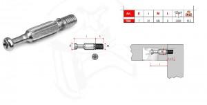 Śruba łącząca TE03 do mimośrodu M6x34