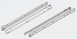 BLUM 230M5000 prowadnice częściowego wysuwu 500mm R901 biały