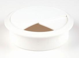 STRONG Przepust kablowy  70 mm biały