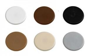 HETTICH 71054 Zaślepka RASTEX 15 plastik biały