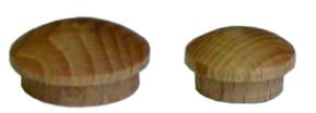 Zaślepka - wieczko z bolcem 10mm buk