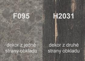 Panel ścienny H2031 ST10/F095 ST87 4100/640/9,2