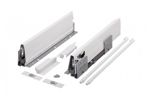 StrongBox H204/500mm biały z 1 relingiem